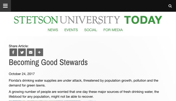 Stetson TODAY Article