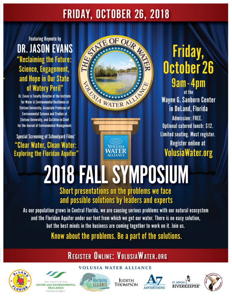 2018 Fall Symposium Flyer